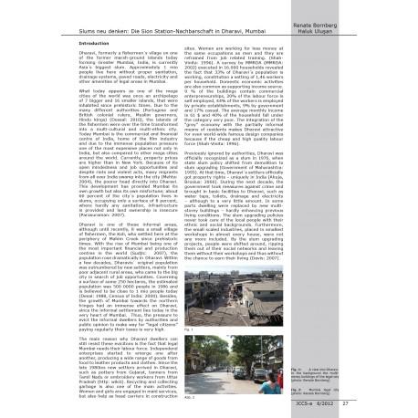 Rethinking slums: Sion station neighborhood in Dharavi, Mumbai.