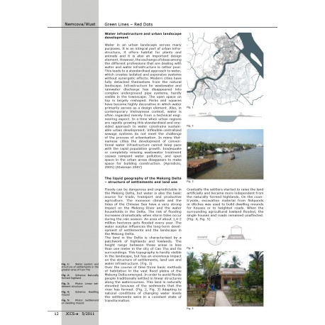 Green Lines – Red Dots: Combining Wastewater Infrastructure and Urban Landscape Development in the Mekong Delta, Vietnam