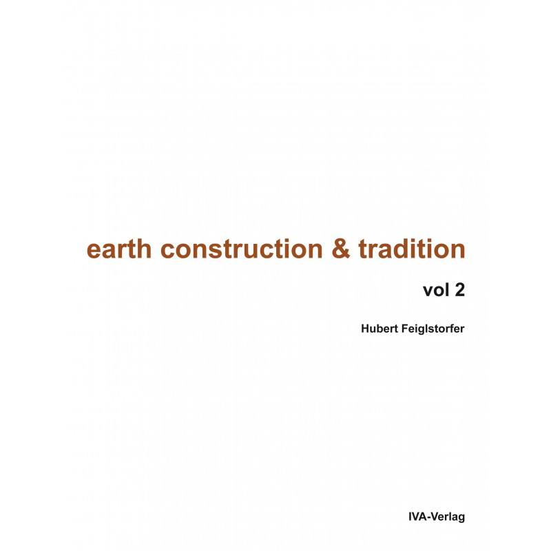 Earth Construction and Tradition – Volume II